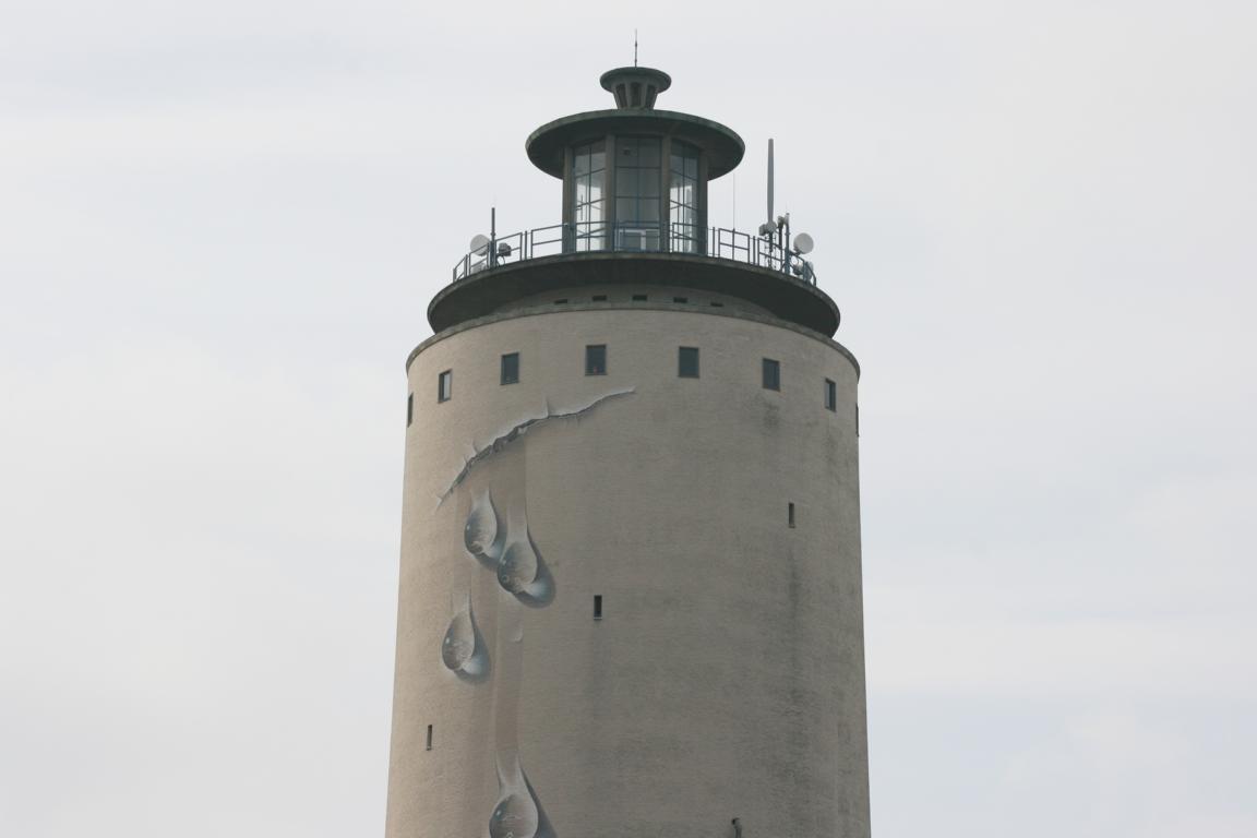 Wassertropfen Wasserturm Oostburg