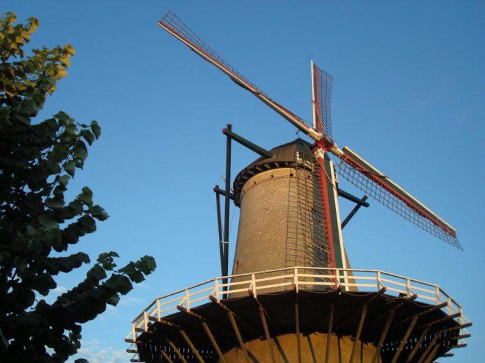 Windmühle in Sluis