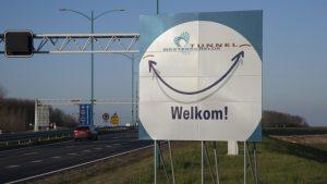 Mautfreier Westerschelde-Tunnel @ Westerschelde-Tunnel | Borssele | Zeeland | Niederlande