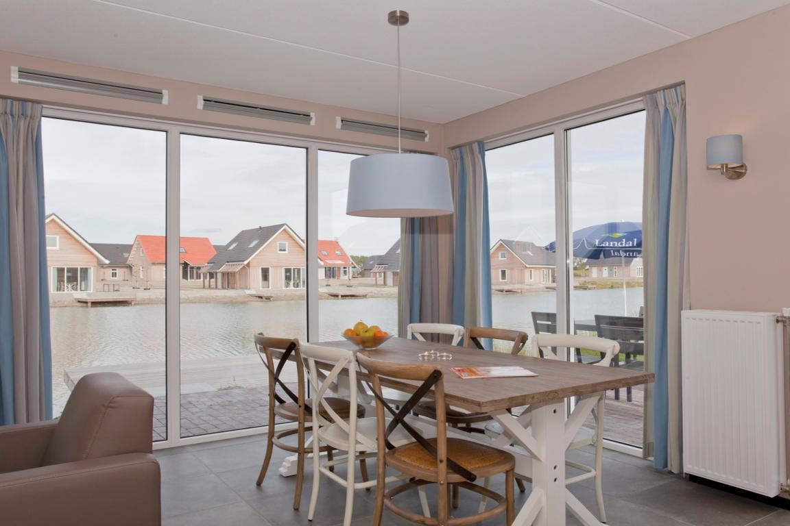 Kanal-Blick Strand Resort Nieuwvliet-Bad