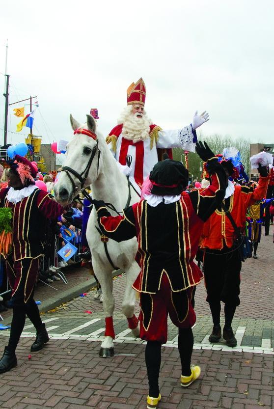 Ankunft Sinterklaas und Zwarte Piet