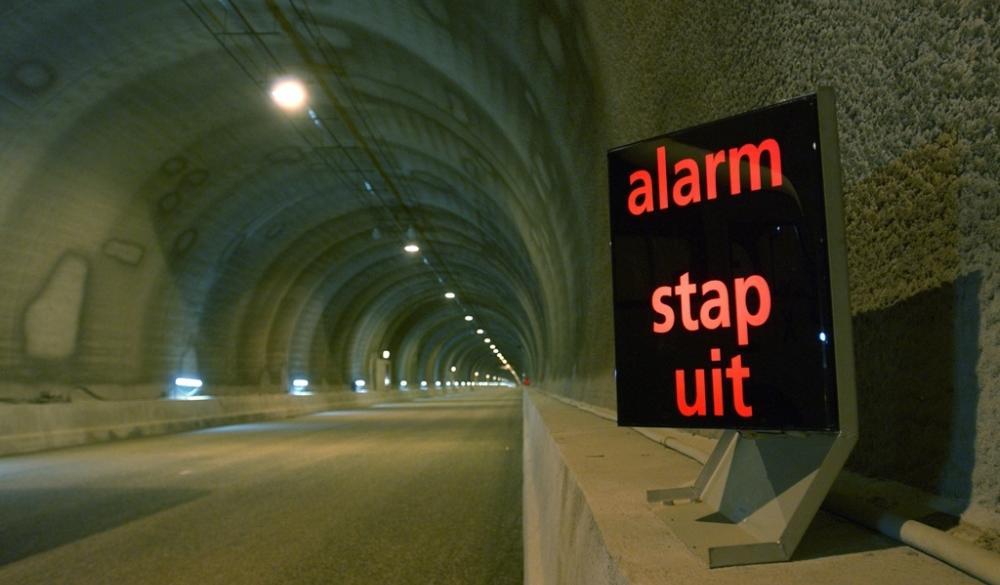 Sicherer Westerschelde-Tunnel