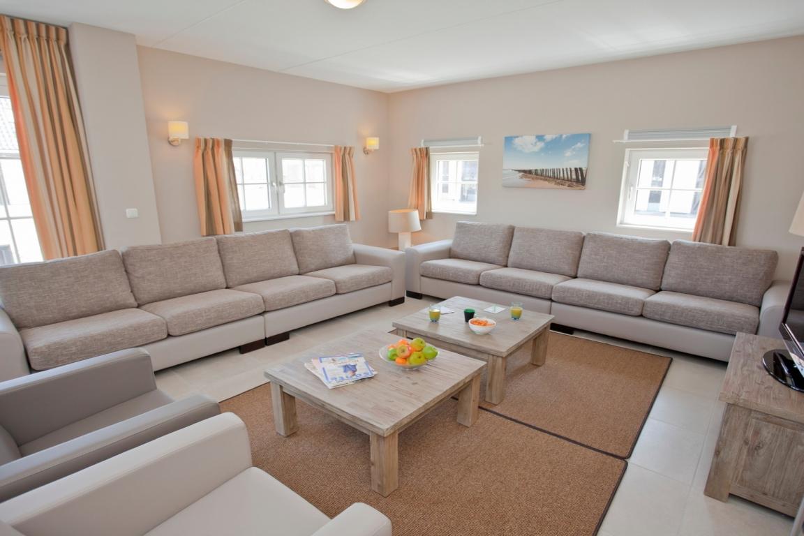 22-Personen-Bauernhaus im Strand Resort Nieuwvliet-Bad