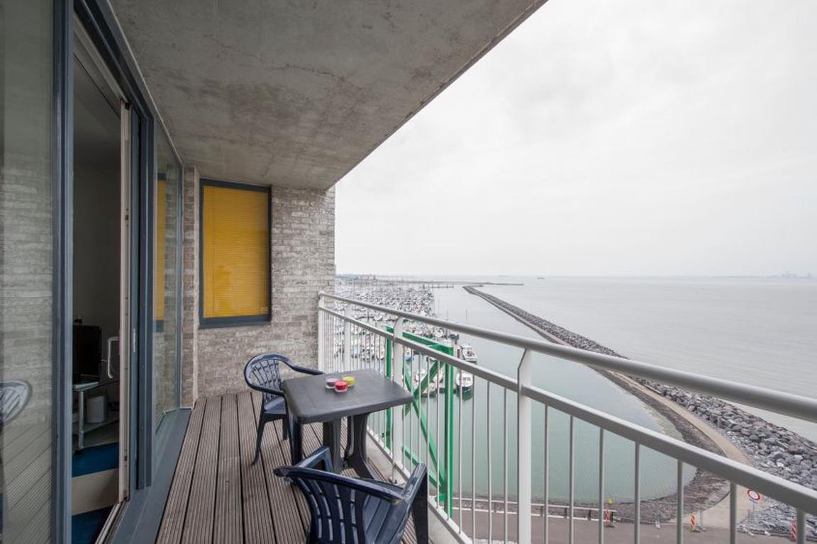 """Blick von Ferienappartements """"Port Scaldis"""" Breskens"""