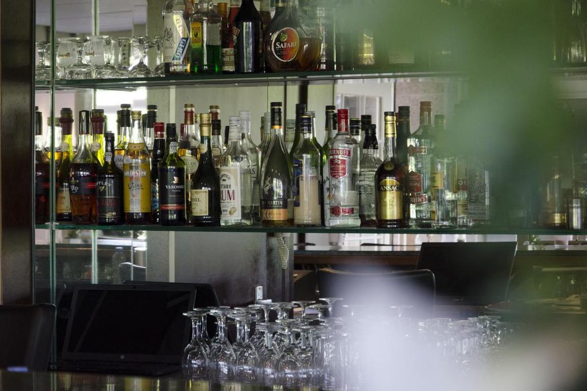 "Barbereich Hotel ""Scaldis"" in Breskens"