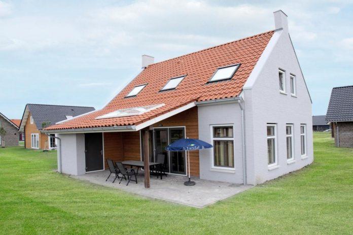 """8-Personen Ferienhaus 8L """"Boomgaard"""" - """"Strand-Resort Nieuwvliet-Bad"""""""